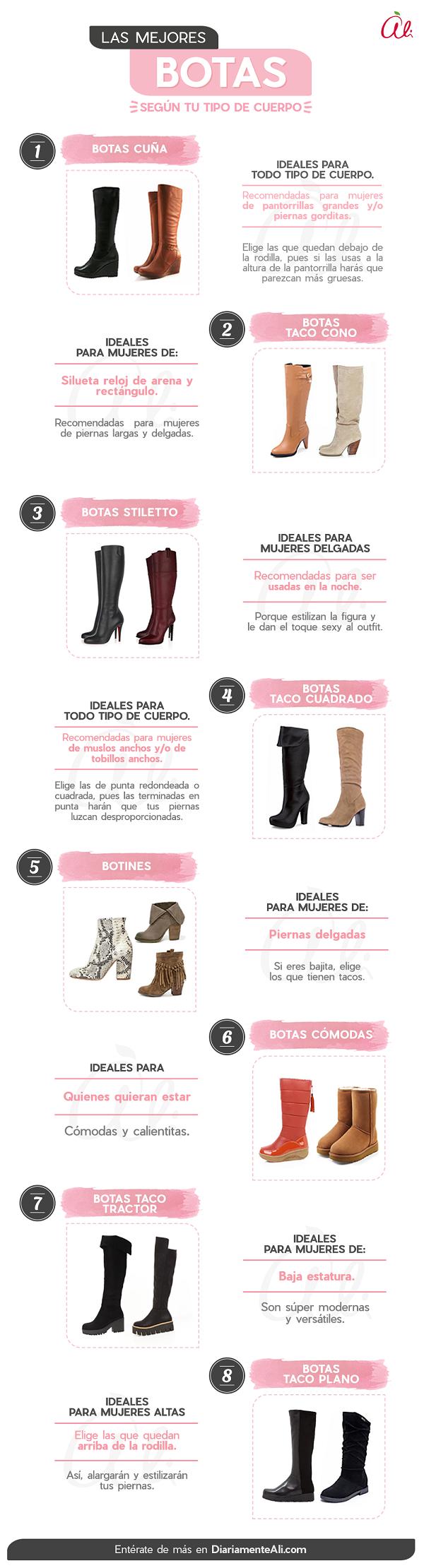de5fda9b8fb Qué modelos de botas te quedan mejor según tu tipo de cuerpo ...